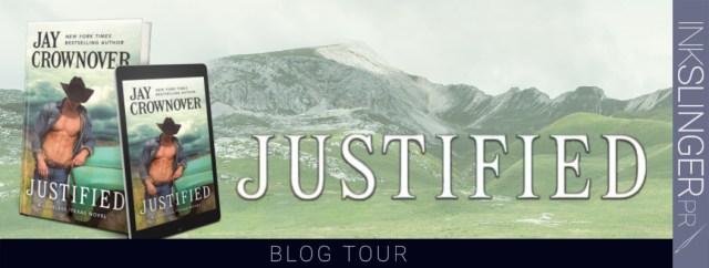 Blog Tour: Justified by Jay Crownover @JayCrownover @GrandCentralPub @InkSlingerPR