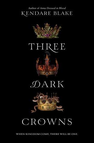 Three Dark Crowns book review
