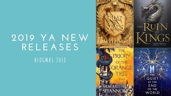 2019 YA New Releases   Blogmas #12
