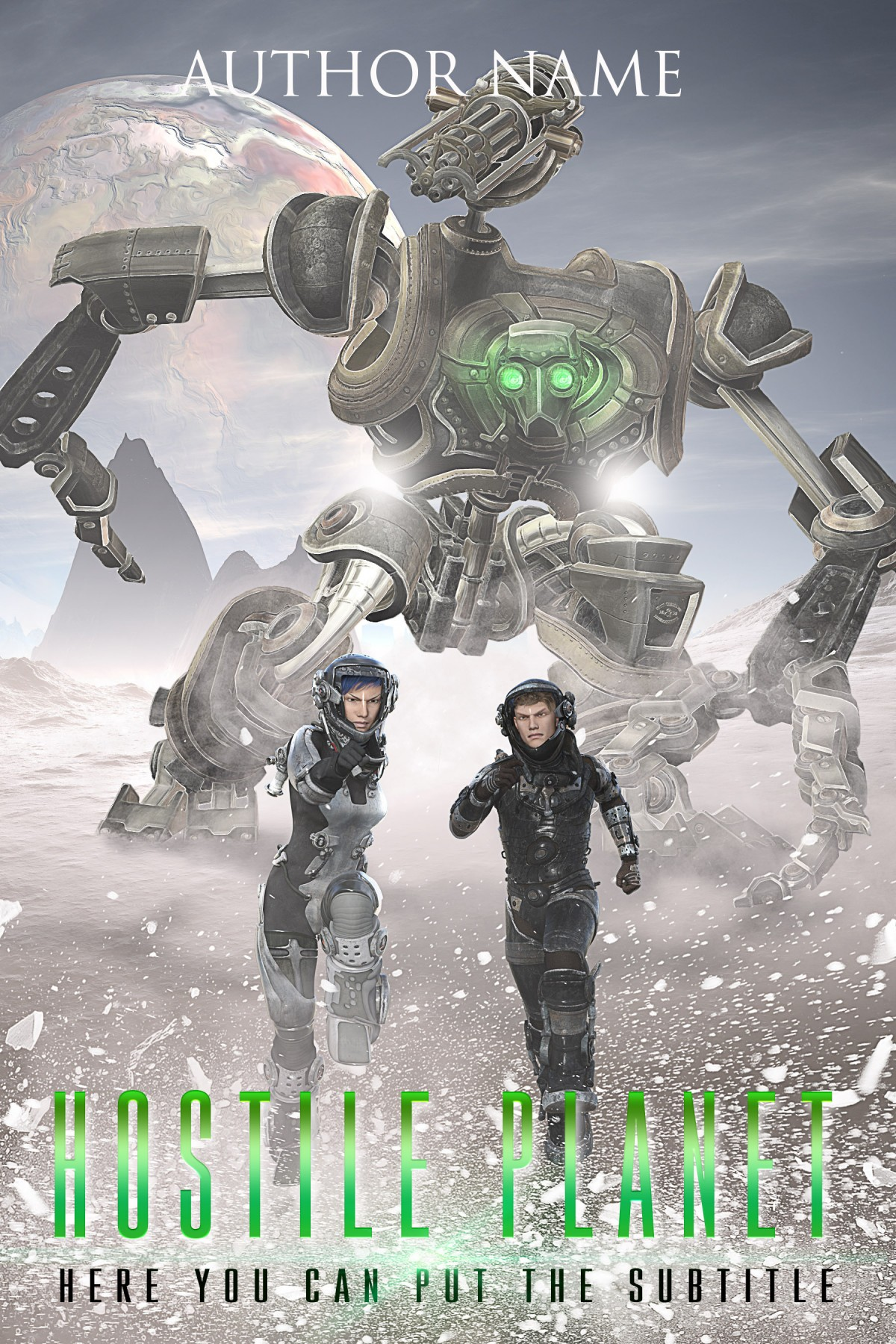Science Fiction Novel Set 3 Cover