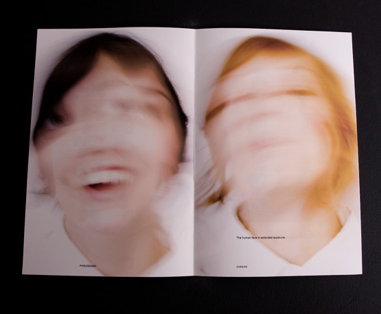 physiognomy book photographic typographic inspiration