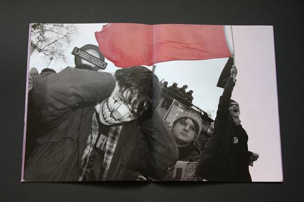VENT political protest zine design inspiration