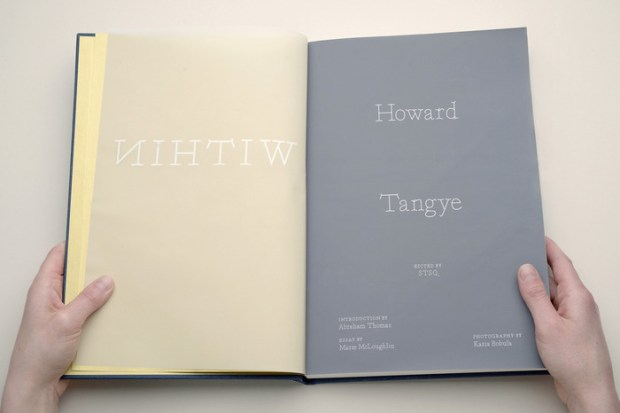 within book by Howard Tangye graphic design inspiration