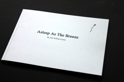 Asleep as the Breeze illustrated book design inspiration