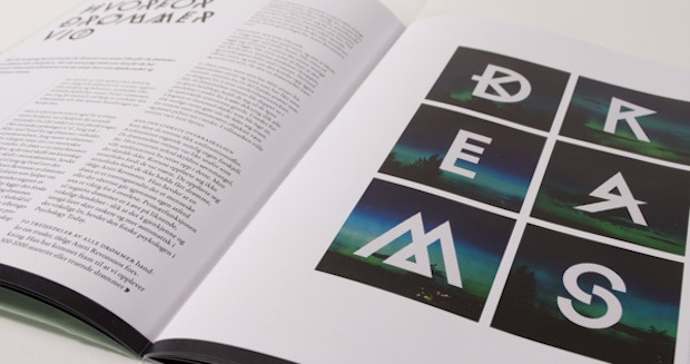 magazine editorial spread design inspiration