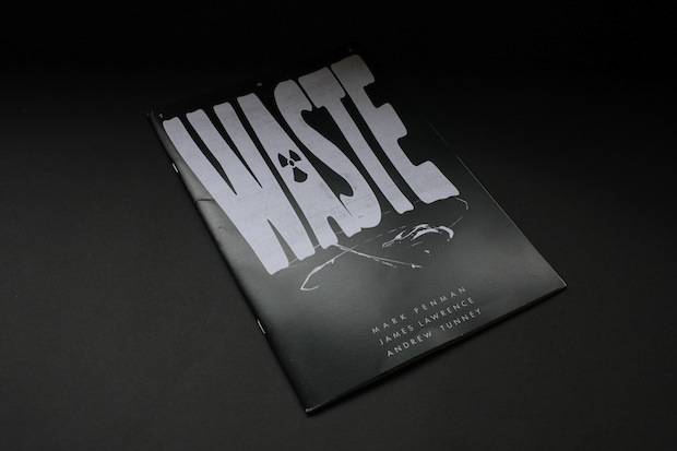 The Waste post apocalyptic comic book design inspiration