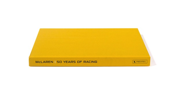 McLaren Formula 1 Racing book design inspiration
