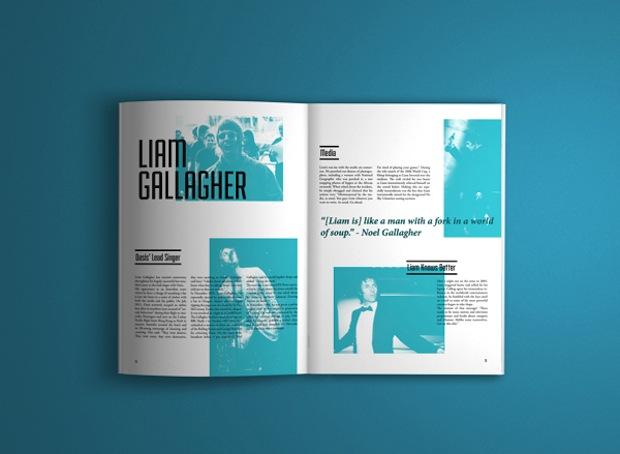 magazine spread design inspiration