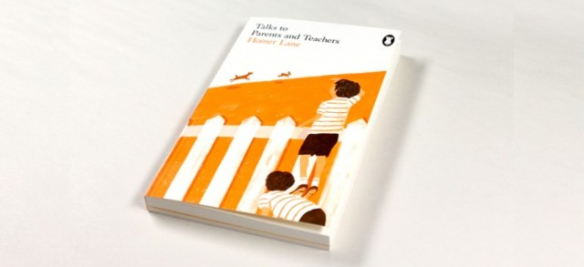 orange book cover design and illustration
