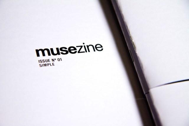 Musezine black and white zine