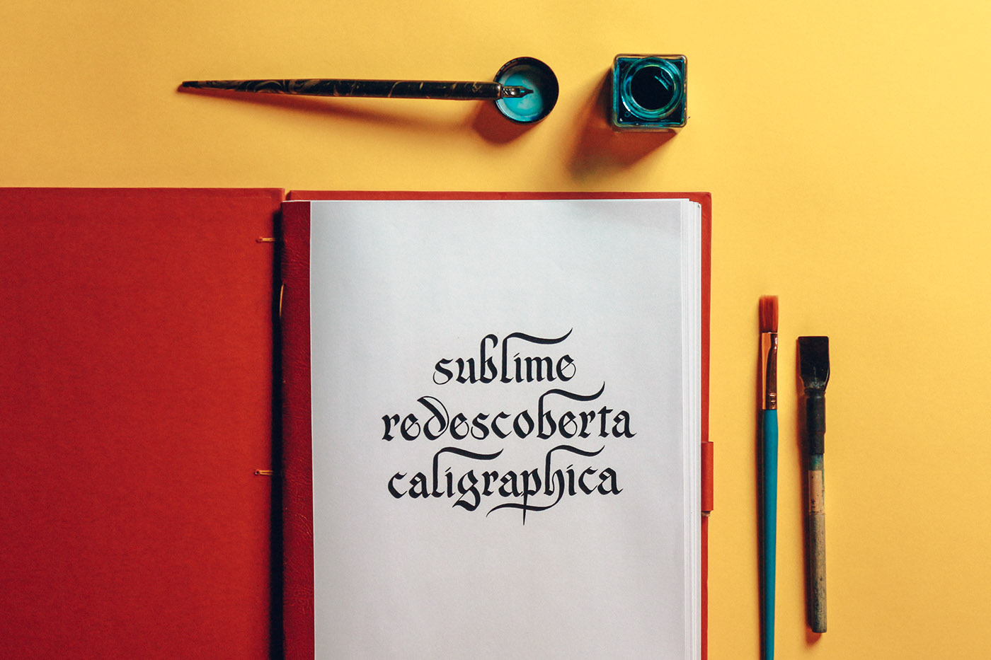 Sublime Rediscovered Calligraphy