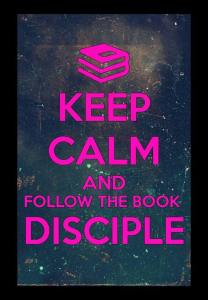 follow the book disciple