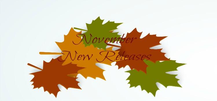 November new releases fb banner