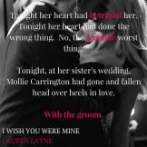 i wish you were mine