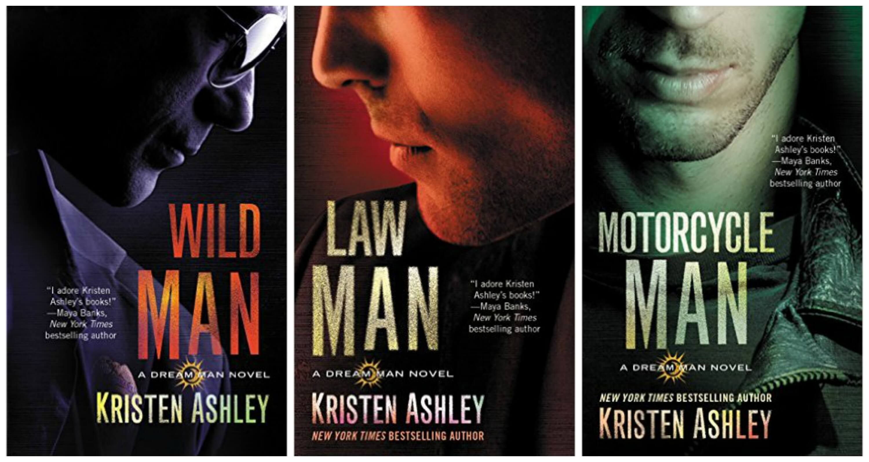 dream man series covers