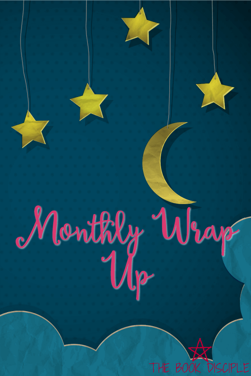 March wrap up and April books!