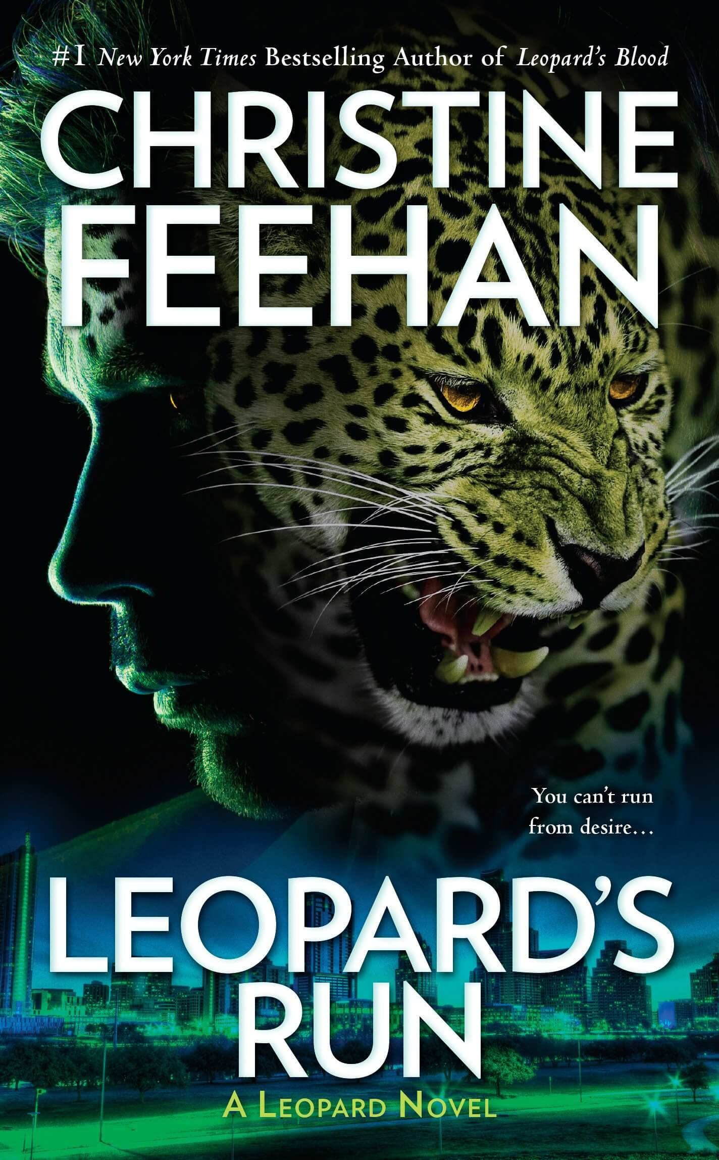 #NewRelease Leopard's Run by Christine Feehan