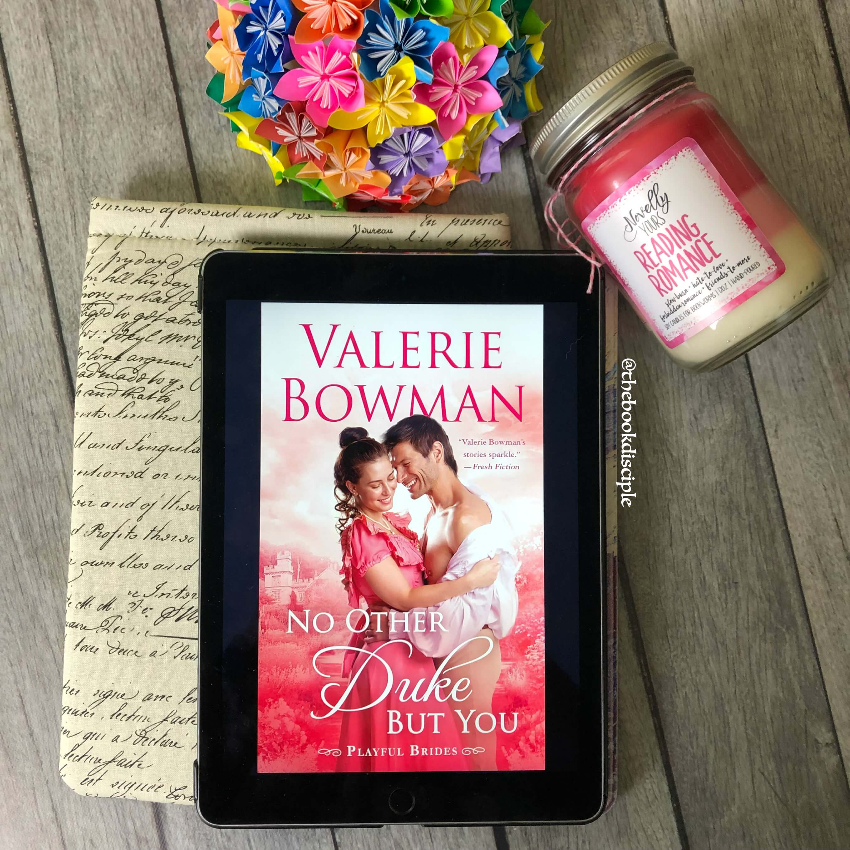No Other Duke but You by Valerie Bowman