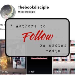 7 authors to follow on social media