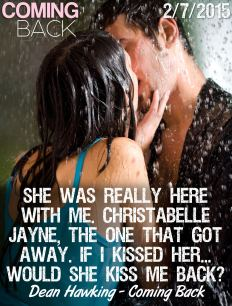 Young hugging couple kissing under a rain, in passion