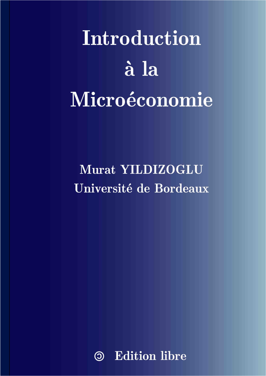 Introduction à La Microéconomie  Murat Yildizoglu