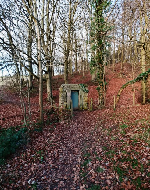 Woodland Gate at Moorseats - the Jane Eyre Trail
