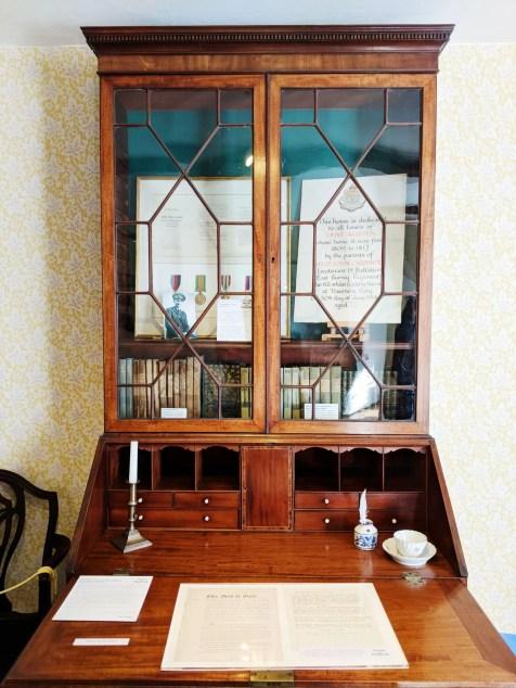 The drawing room bureau Jane Austen House