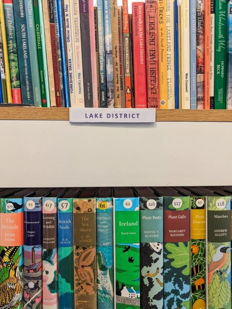 New Naturalist Bookshelves Dales and Lakes Book Centre