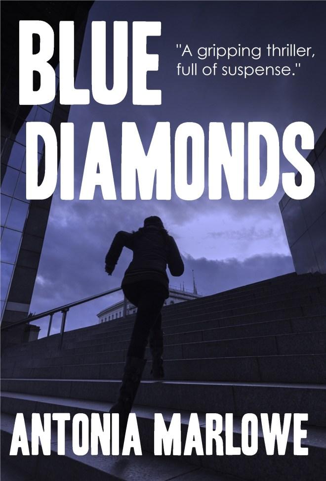 Book cover of BLUE DIAMONDS