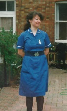 Candy DeCandy Denman in her nursing daysnman in her nursing days