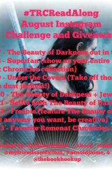 Introduction to August #TRCReadAlong Instagram Challenge + INTL Giveaway: The Beauty of Darkness
