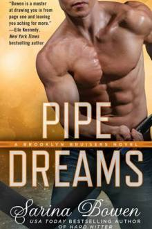 {ARC Review} Pipe Dreams (Brooklyn Bruisers #3) by Sarina Bowen