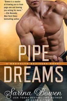 {ARC Review} Pipe Dreams (Brooklyn Bruisers #3) by Sarina Bowen