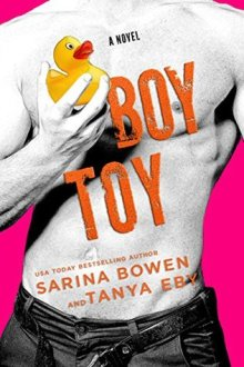 {ARC Review & Excerpt} Boy Toy (Man Hands #3) by Sarina Bowen and Tanya Eby
