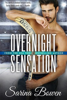 {Review} Overnight Sensation (Brooklyn Bruisers #5) by Sarina Bowen
