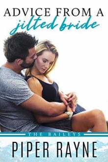 {Review} Advice from a Jilted Bride (The Baileys #2) by Piper Rayne