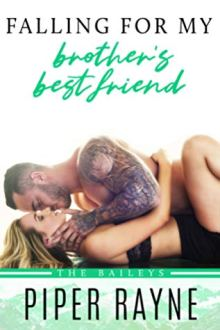 {Review} Falling for My Brother's Best Friend (The Baileys #4) by Piper Rayne