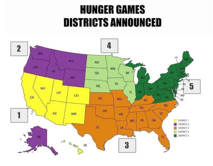"Breaking Down Twitter's ""Hunger Games"" Map"