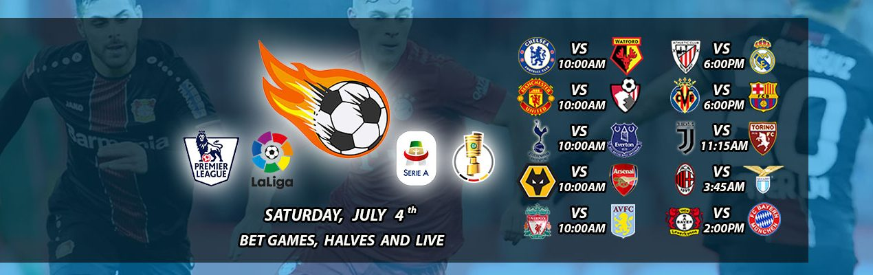 Barney Euro's Big Board: 4TH of July Weekend