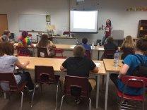 Elaine Vickers participates in Nerd Camp Jr