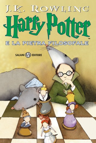 Harry Potter and the philosopher's stone (la pietra filosofale) - IT cover