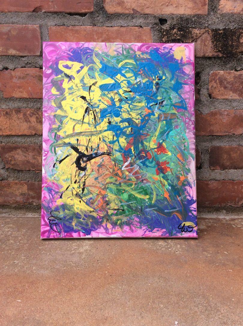 Custom Painting 11 in x 14 in