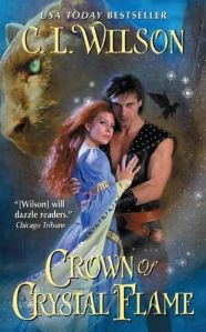 Review: Crown of Crystal Flame by C.L Wilson