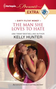Review – The Man She Loves To Hate by Kelly Hunter