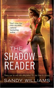 Review The Shattered Dark by Sandy Williams and Giveaway of The Shadow Reader