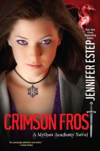 cover for Crimson Frost by Jennifer Estep
