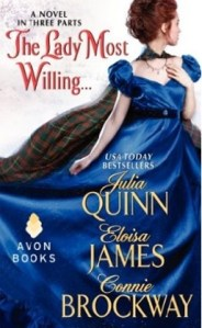 Cover for The Lady Most Willing by Julia Quinn et al