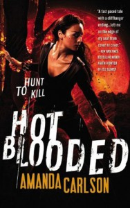 cover for Hot Blooded by Amanda Carlson