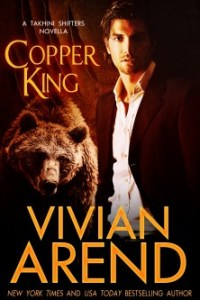 Review & Giveaway – Copper King (Takhini Shifters #1) by Vivian Arend