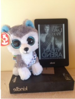 Wolfie in Kilt and Kindle image